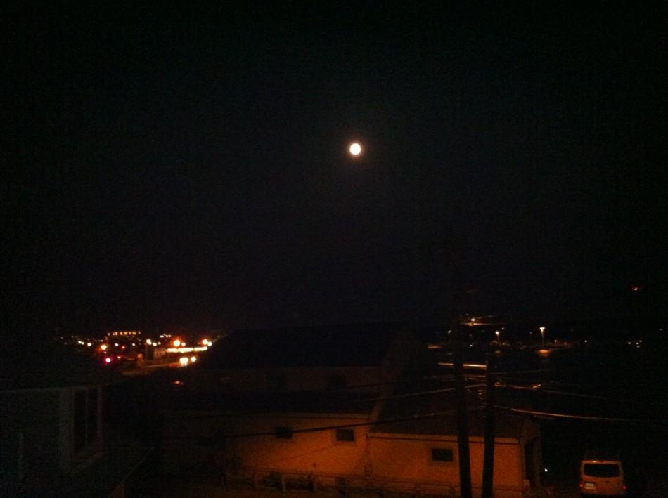 Big Moon from my window