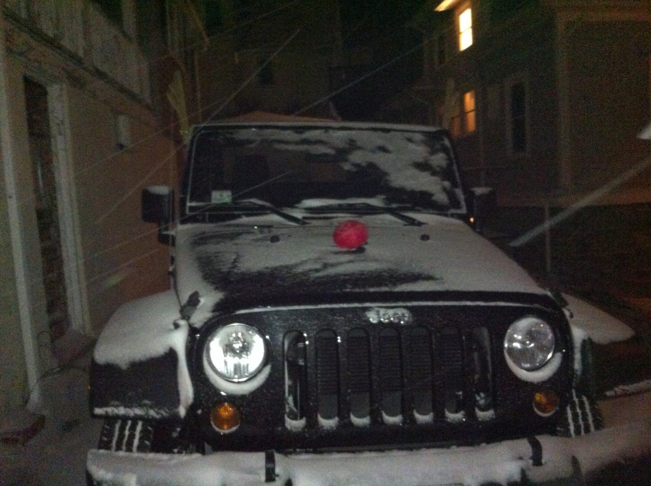 Jeep's first snow