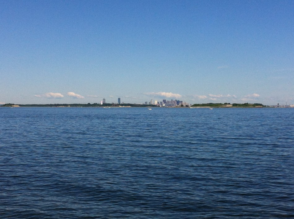 Boston as seen from Hull
