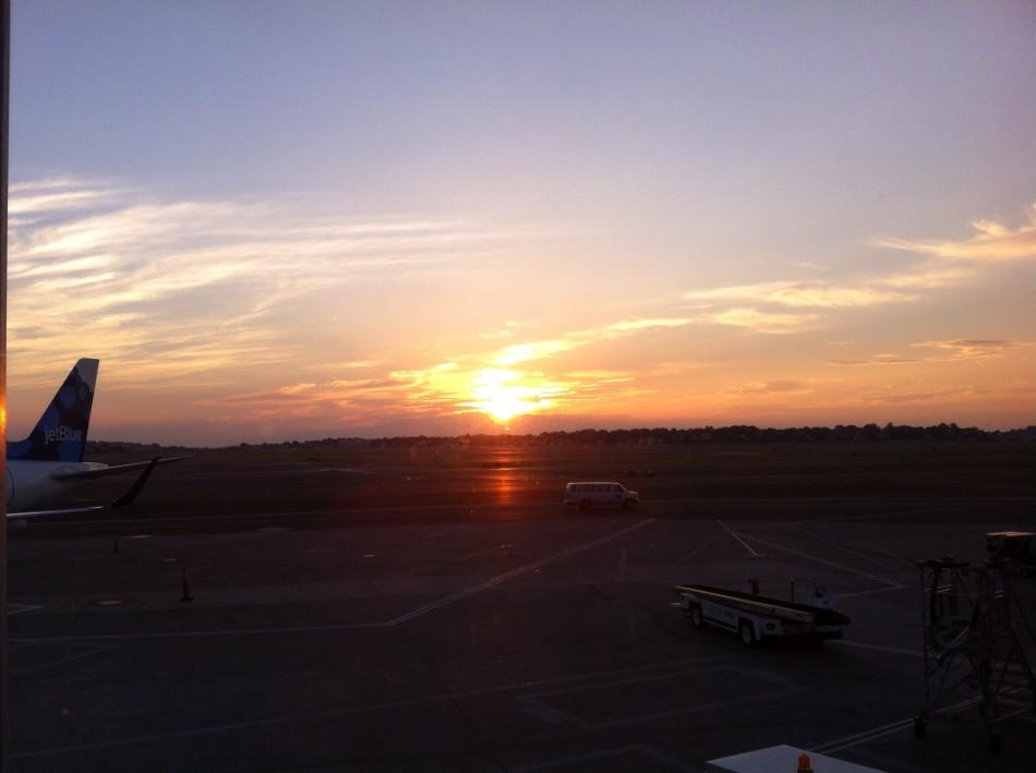 Sunrise at Logan 7/9/14