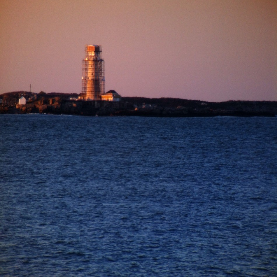 Boston Light gets a face lift