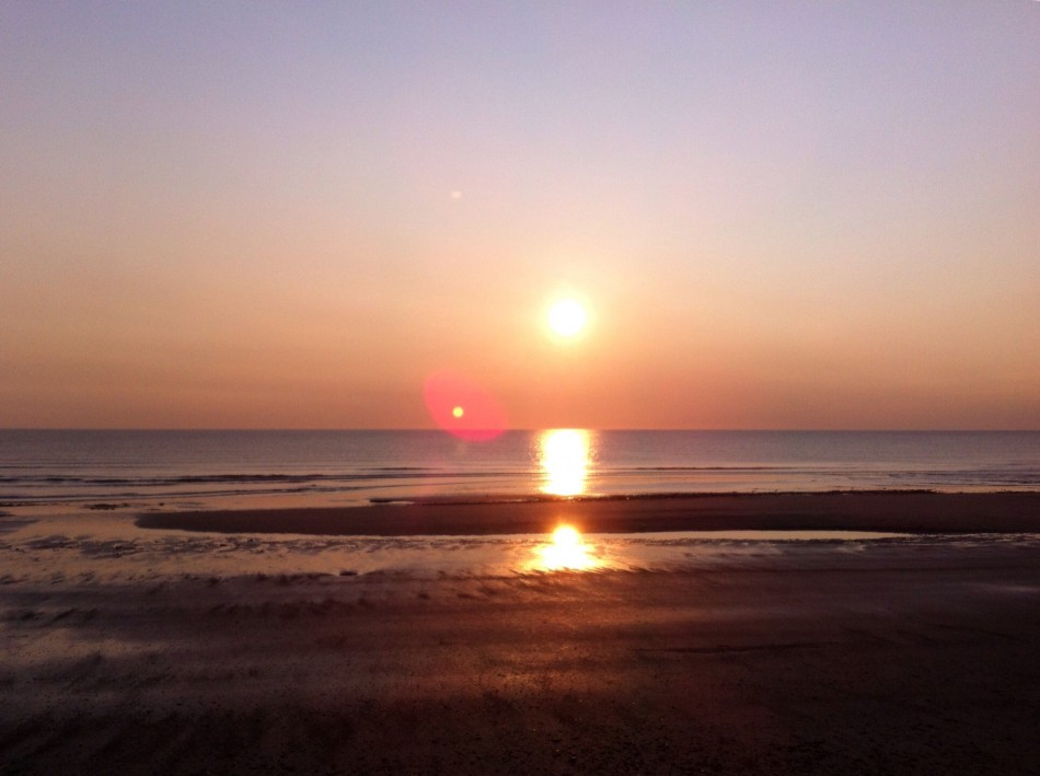 Two sun rise