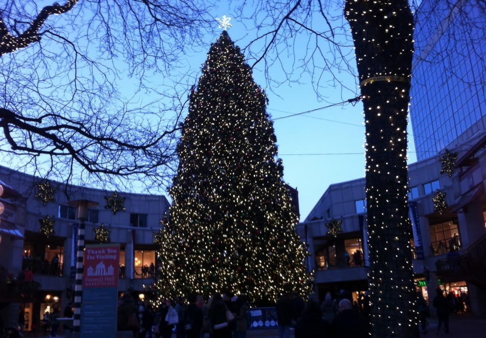 Merry Christmas from Faneuil Hall