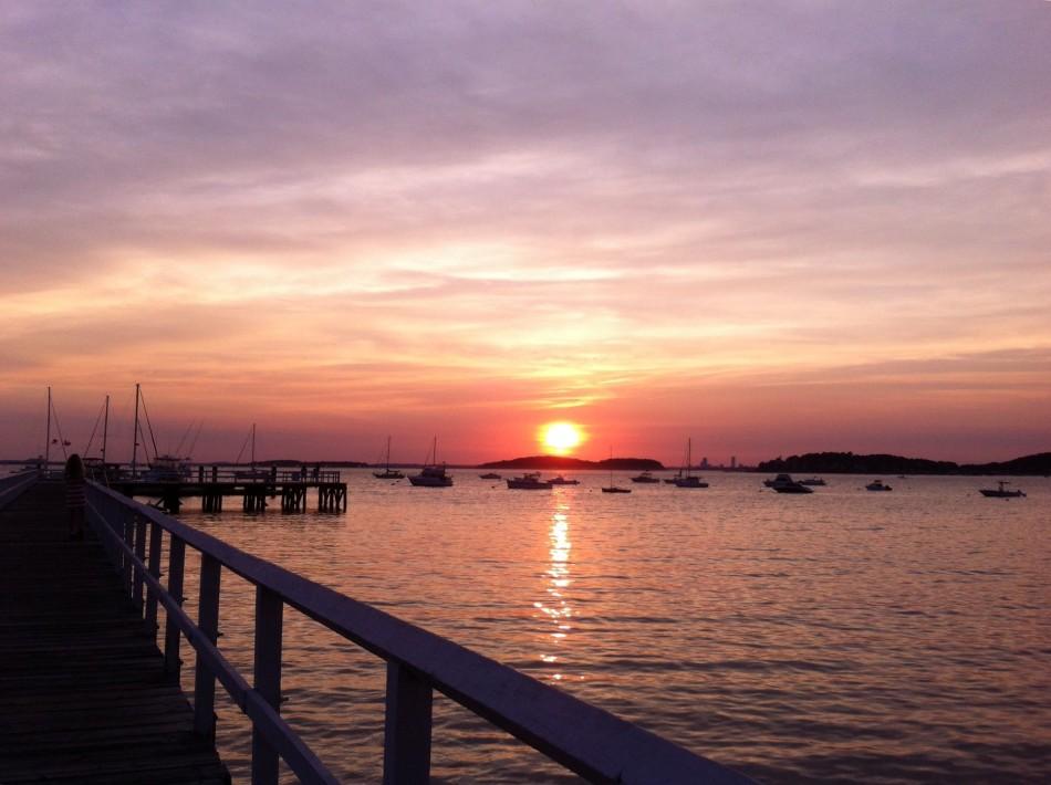 Different sunset, different night