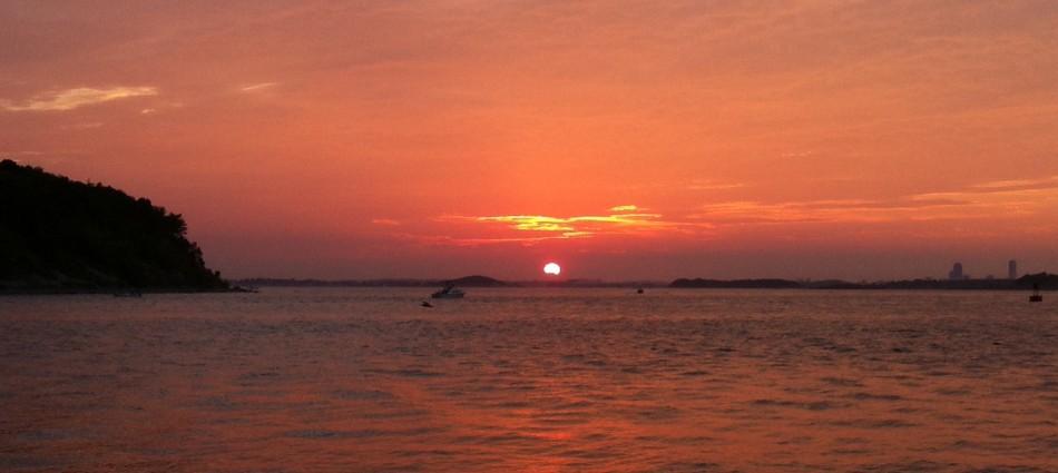 September sundown